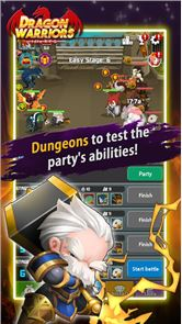 Dragon Warriors : Idle RPG image