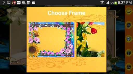 Flowers Photo Frames image