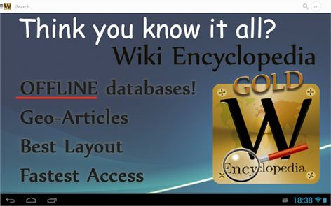 Wiki Encyclopedia Gold image