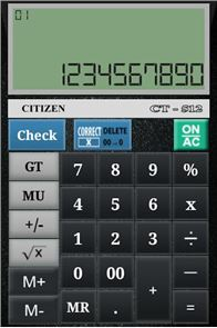 CITIZEN CALCULATOR image