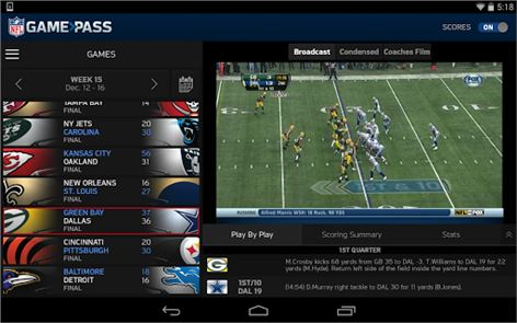 NFL Game Pass image