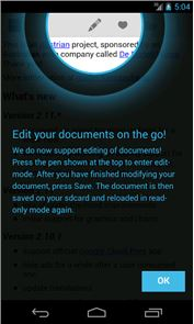 OpenDocument Reader image