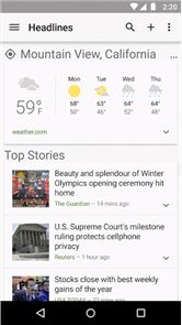 Google News & Weather image
