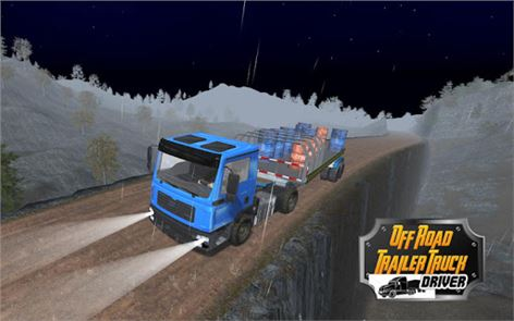 Off Road Trailer Truck Driver image
