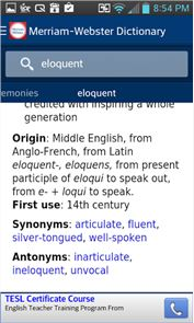 Dictionary - Merriam-Webster image