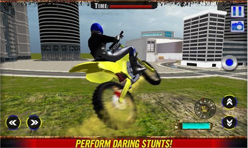 Crazy Moto Death Wheels Rider image