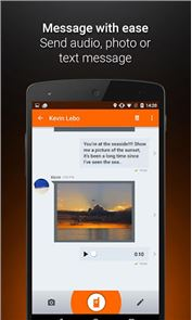 Voxer Walkie Talkie Messenger image