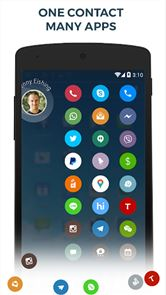 Contacts Phone Dialer: drupe image