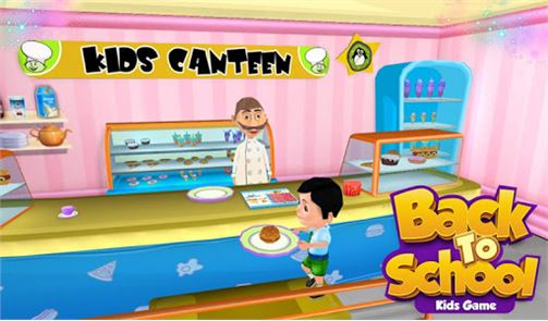Back To School Kids Game image