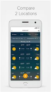 Weather & Radar - Morecast App image