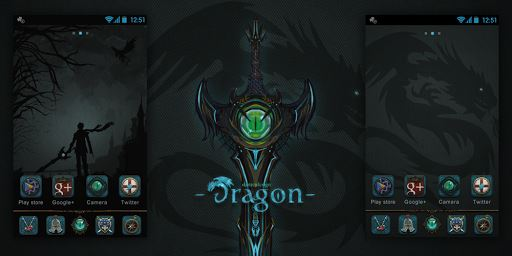 Dragon GO Launcher Theme image