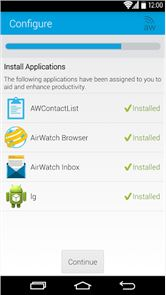 AirWatch Agent image