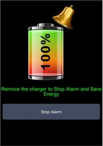 Battery 100% Alarm image