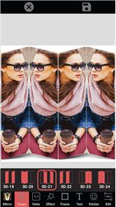 Mirror Photo Collage Maker image