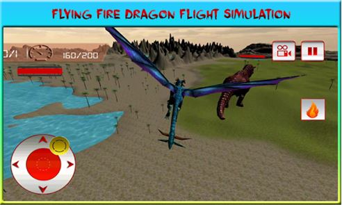 Flying Dragon War Simulator image