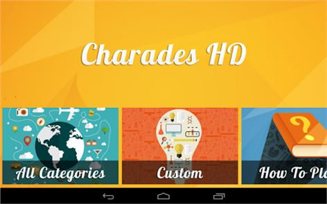 Charades (50+ Free Categories) image