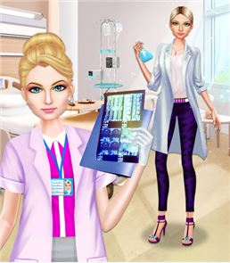 Doctor Girl's Fashion Stylist image