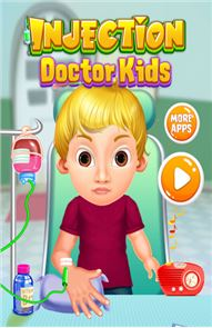 Injection Doctor Kids Games image