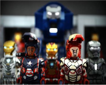 Heroes Iron Man Toys image