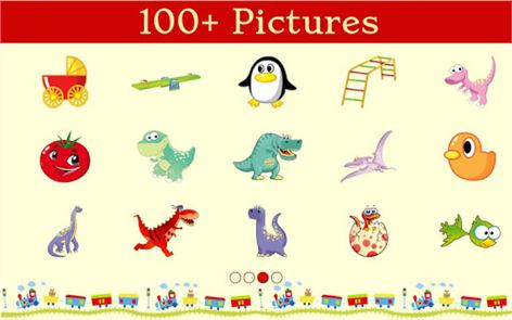 Dinosaur Kids Connect the Dots image