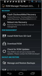 ROM Manager image