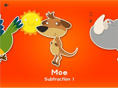Animal First Grade Math Games image