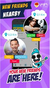Yogrt: Meet Friends Nearby image