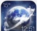 HD Transparent Weather Clock